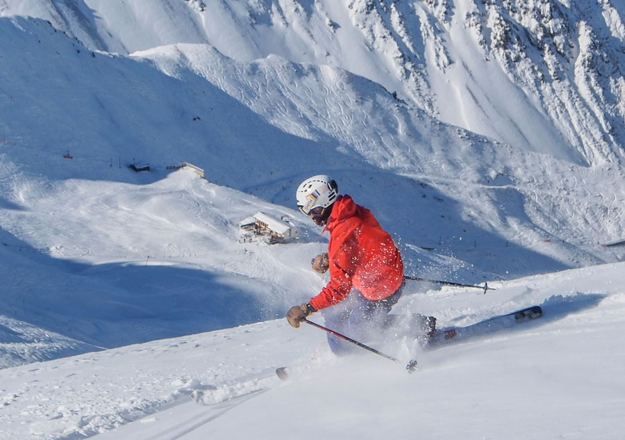 Skiing in New Zealand