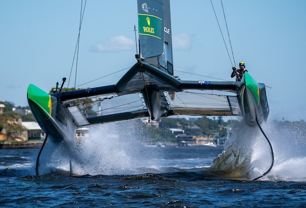 Foiling catamarans, New Zealand SailGP team heading to Christchurch in 2022